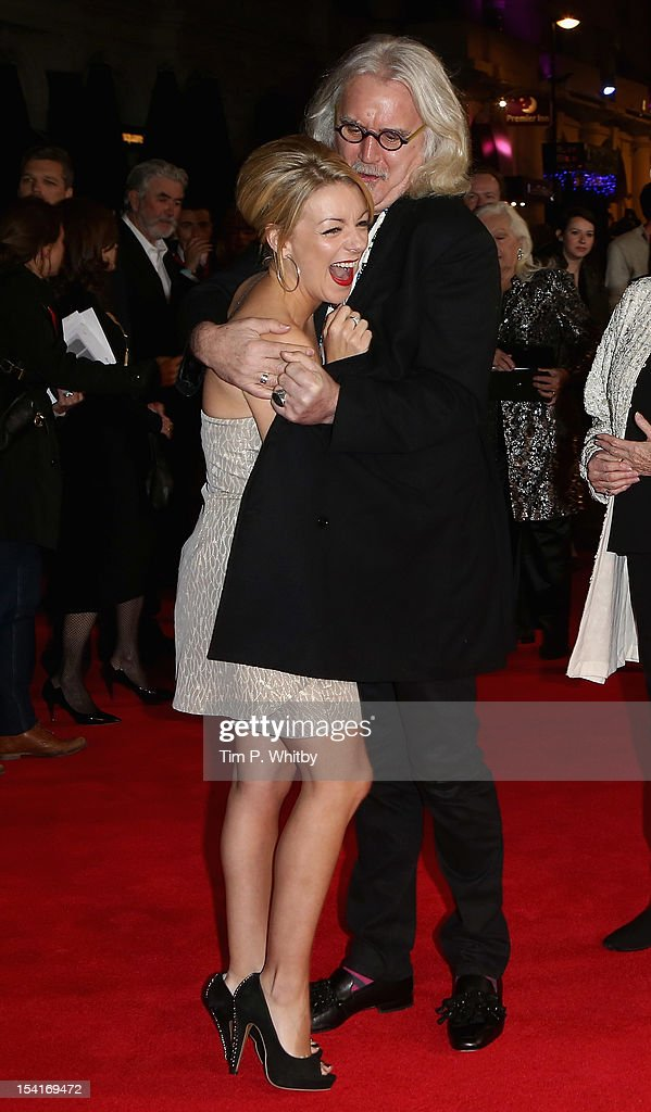 Actors <a gi-track='captionPersonalityLinkClicked' href=/galleries/search?phrase=Sheridan+Smith&family=editorial&specificpeople=4159304 ng-click='$event.stopPropagation()'>Sheridan Smith</a> and <a gi-track='captionPersonalityLinkClicked' href=/galleries/search?phrase=Billy+Connolly&family=editorial&specificpeople=208248 ng-click='$event.stopPropagation()'>Billy Connolly</a> attend the 'Quartet' premiere during the 56th BFI London Film Festival at the Odeon Leicester Square on October 15, 2012 in London, England.