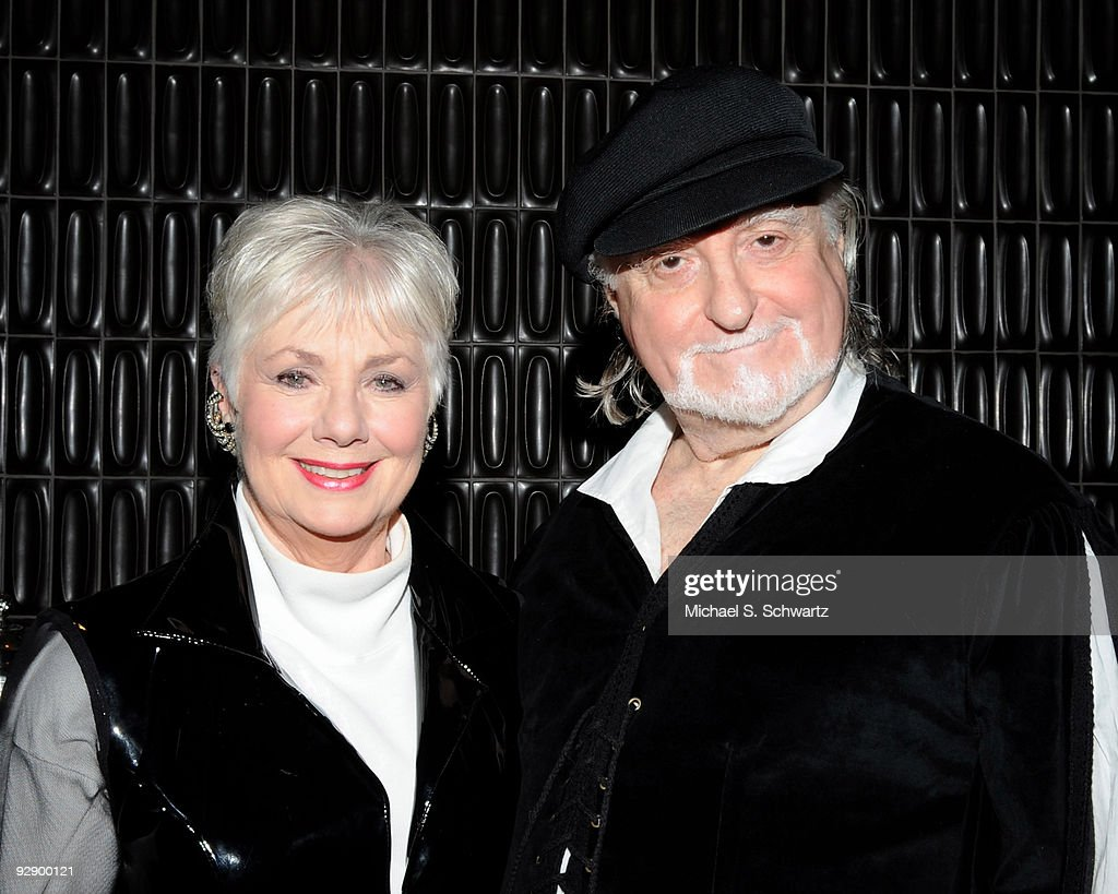 Actors Shirley Jones (L) and her husband Marty Ingels attend the Larry King Cardiac Foundation and COPE Health Solutions' comedy fundraiser at the BOA Steakhouse on November 7, 2009 in West Hollywood, California.