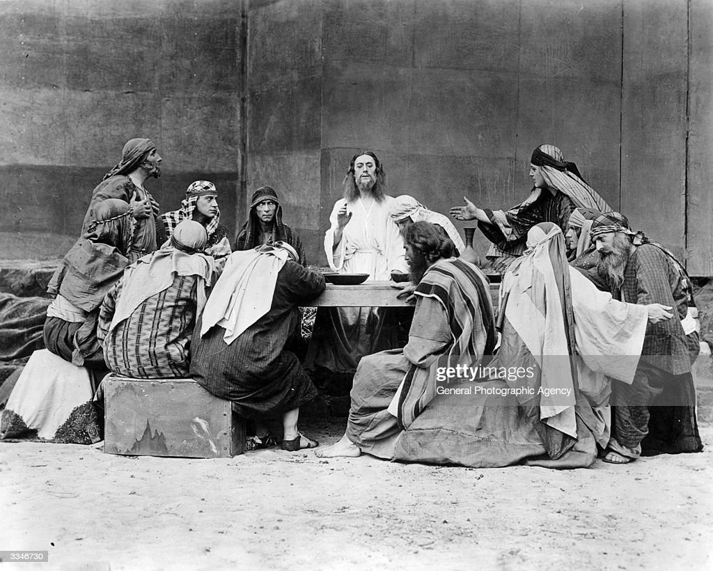 last supper scene pictures getty images
