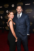 """Actors Sofía Vergara and Joe Manganiello attend the World Premiere of """"Star Wars The Force Awakens"""" at the Dolby El Capitan and TCL Theatres on..."""