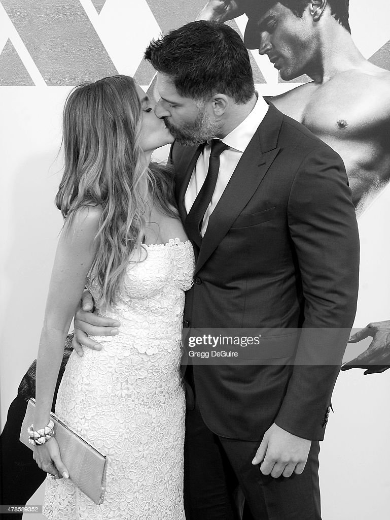 Actors Sofia Vergara and Joe Manganiello arrive at the Los Angeles World Premiere of Warner Bros. Pictures' 'Magic Mike XXL' at TCL Chinese Theatre IMAX on June 25, 2015 in Hollywood, California.
