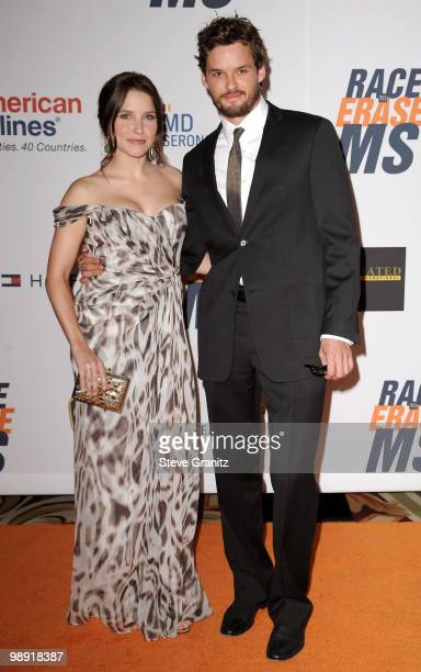 Actors Sophia Bush and Austin Nichols arrive at the 17th Annual Race to Erase MS event cochaired by Nancy Davis and Tommy Hilfiger at the Hyatt...