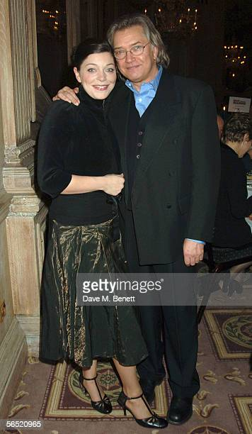Actors Sophie Shaw and father Martin Shaw attend the after show party following the opening night of Bill Kenwright's production at the Haymarket...
