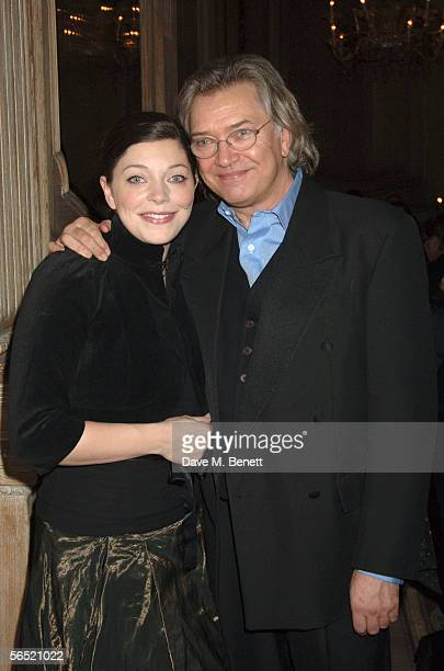 Actors Sophie Shaw and her father Martin Shaw attend the after show party following the opening night of Bill Kenwright's production at the Haymarket...