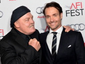 Actors Stacy Keach and Will Forte attend the screening of 'Nebraska' during AFI FEST 2013 presented by Audi at TCL Chinese Theatre on November 11...