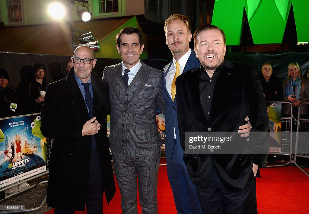 """""""The Muppets Most Wanted"""" - VIP Screening - Inside Arrivals"""