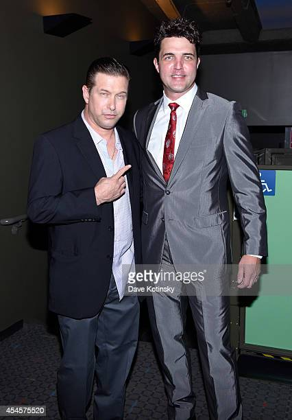 Actors Stephen Baldwin and Blake Rayne attend City Of Peace Films With The Cinema Society Host The World Premiere Of 'The Identical' at SVA Theater...