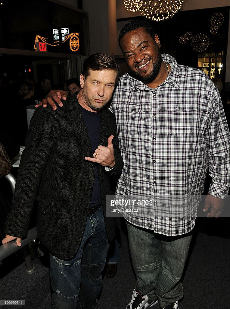 Actors Stephen Baldwin and Grizz Chapman attend the 2010 WIRED Store Experiential Gallery Opening in NOHO on November 18 2010 in New York City