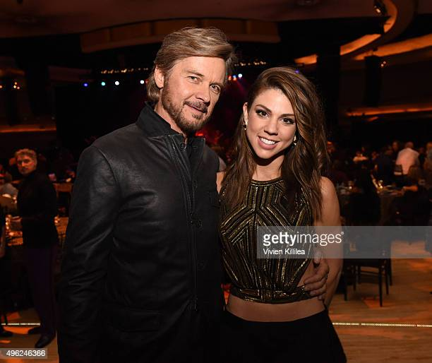 Actors Stephen Nichols and Kate Mansi attend the Days Of Our Lives' 50th Anniversary Celebration at Hollywood Palladium on November 7 2015 in Los...