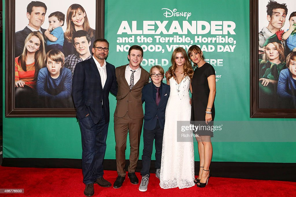 """The World Premiere of Disney's """"Alexander and the Terrible' Horrible, No Good, Very Bad Day"""" - Red Carpet"""