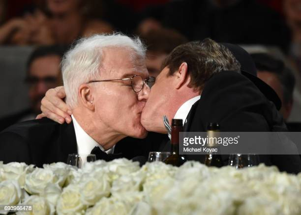 Actors Steve Martin and Martin Short attend American Film Institute's 45th Life Achievement Award Gala Tribute to Diane Keaton at Dolby Theatre on...