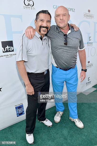Actors Steven Michael Quezada and Dean Norris attend the 9th Annual George Lopez Celebrity Golf Classic to benefit The George Lopez Foundation at...