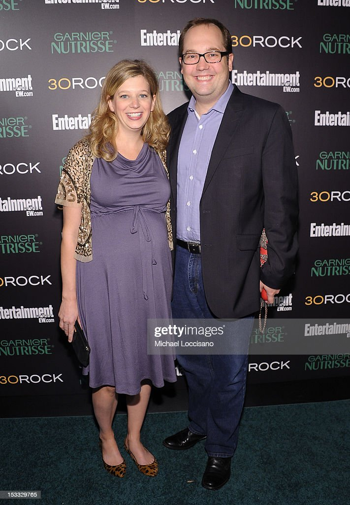 Actors Sue Galloway and John Lutz attend Entertainment Weekly and NBC's celebration of the final season of 30 Rock sponsored by Garnier Nutrisse on October 3, 2012 in New York City.
