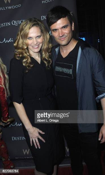 Actors Summer Moore and Kash Hovey at the Music Video Premiere HEARTBEAT by Medi eM Dustin Quick held on August 5 2017 at Statioh W Hotel in...