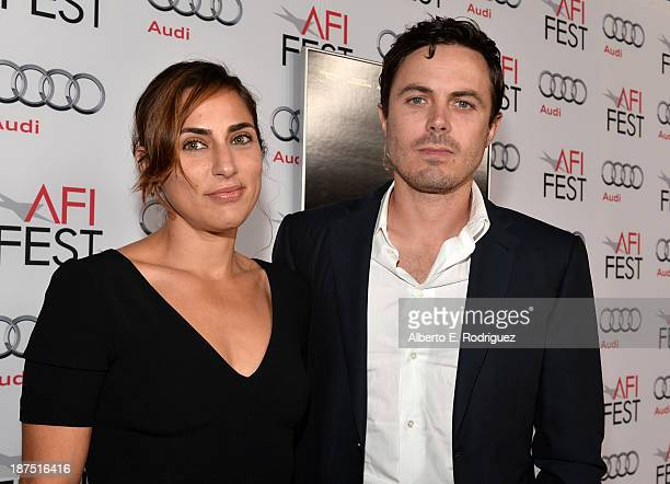 Actors Summer Phoenix and Casey Affleck attend the screening of 'Out of the Furnace' during AFI FEST 2013 presented by Audi at TCL Chinese Theatre on...