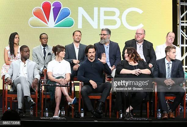 Actors Susan Kelechi Watson Ron Cephas Jones creator/executive producer Dan Fogelman executive producers Glenn Ficarra and John Requa and actor Chris...