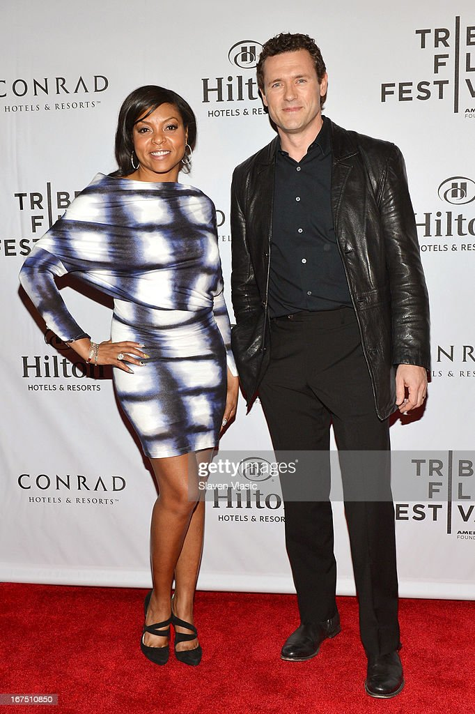 Actors Taraji P. Henson (L) and Jason O'Mara attend the TFF Awards Night during the 2013 Tribeca Film Festival on April 25, 2013 in New York City.