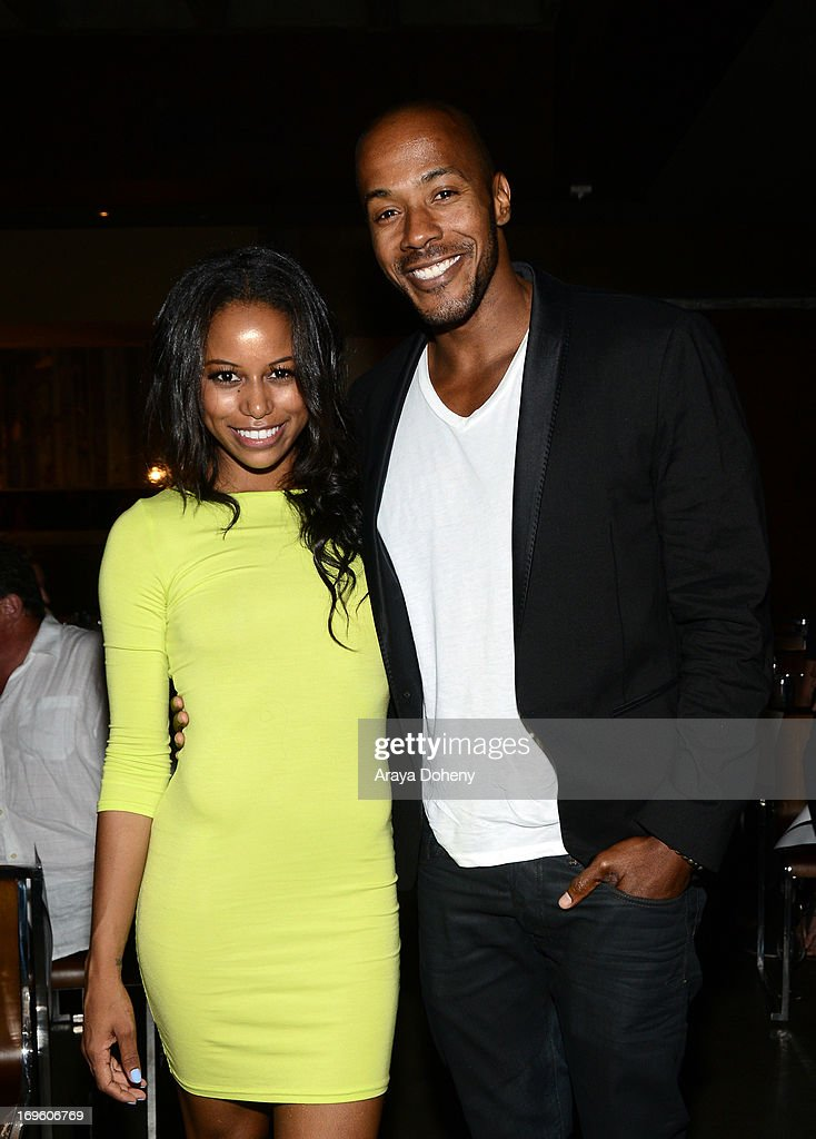 Actors Taylour Paige (L) and McKinley Freeman attend VH1's 'Hit The Floor' screening at Tiato on May 28, 2013 in Santa Monica, California. V_HTF_05_26_13_0467.JPG
