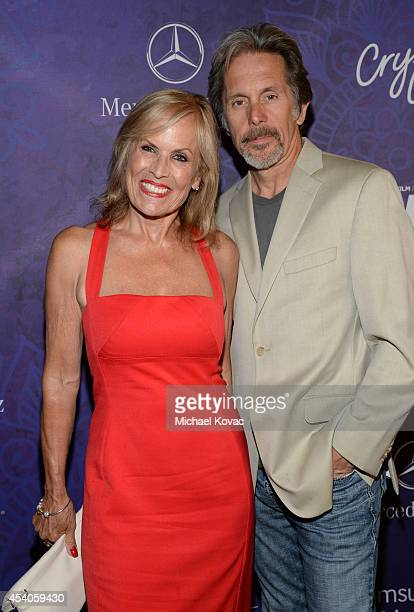 Actors Teddi Siddall and Gary Cole attend Variety and Women in Film Emmy Nominee Celebration powered by Samsung Galaxy on August 23 2014 in West...