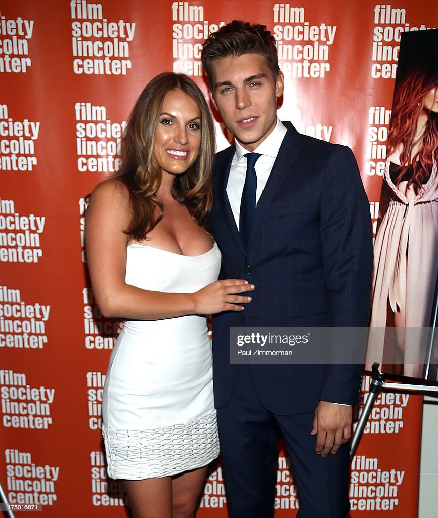 Actors Tenille Houston and <a gi-track='captionPersonalityLinkClicked' href=/galleries/search?phrase=Nolan+Gerard+Funk&family=editorial&specificpeople=5626391 ng-click='$event.stopPropagation()'>Nolan Gerard Funk</a> attend the 'The Canyon' premiere at The Film Society of Lincoln Center, Walter Reade Theatre on July 29, 2013 in New York City.
