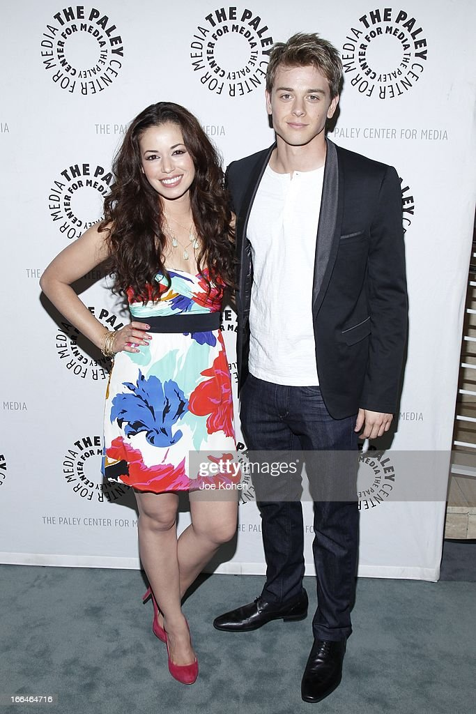 Actors Teresa Castillo and Chad Duell attend 'General Hospital celebrating 50 years and looking forward' at The Paley Center for Media on April 12, 2013 in Beverly Hills, California.
