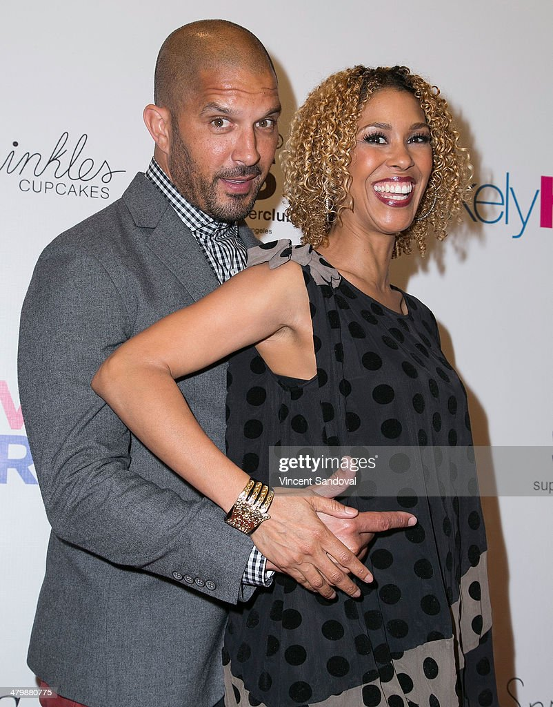 Actors Terrell Tilford (L) and Victoria Gabrielle Platt attend the Unlikely Heroes red carpet spring benefit at SupperClub Los Angeles on March 20, 2014 in Los Angeles, California.