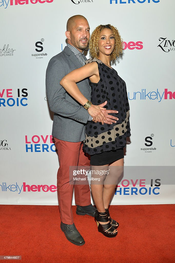 Actors Terrell Tilford and Victoria Platt attend the Unlikely Heroes Red Carpet Spring Benefit held at at SupperClub Los Angeles on March 20, 2014 in Los Angeles, California.
