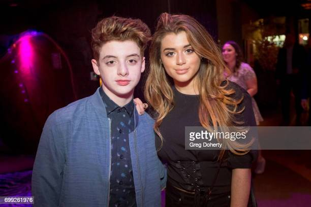 Actors Thomas and Brielle Barbusca attend the Premiere Of AMC's 'Preacher' Season 2 After Party on June 20 2017 in Los Angeles California