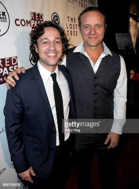 Actors Thomas Ian Nicholas and Griff Furst attend 'The Lost Tree' screening at TCL Chinese 6 Theatres on October 9 2017 in Hollywood California