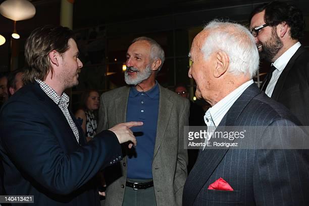 Actors Tim Heidecker Michael Gross Robert Loggia and Eric Wareheim arrive to 'Tim And Eric'$ Billion Dollar Movie' Los Angeles Premiere at ArcLight...