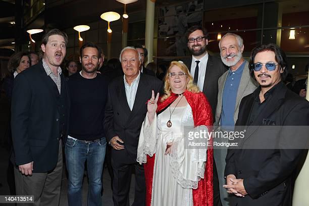 Actors Tim Heidecker Will Forte Robert Loggia Rae Sunshine Lee Eric Wareheim Michael Gross and Ronnie Rodriguez arrive to 'Tim And Eric'$ Billion...