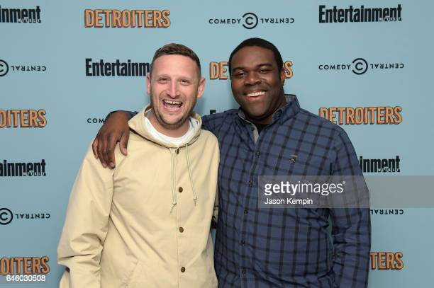 Actors Tim Robinson and Sam Richardson attend an exclusive Screening Of 'Detroiters' starring Sam Richardson and Tim Robinson hosted by Comedy...