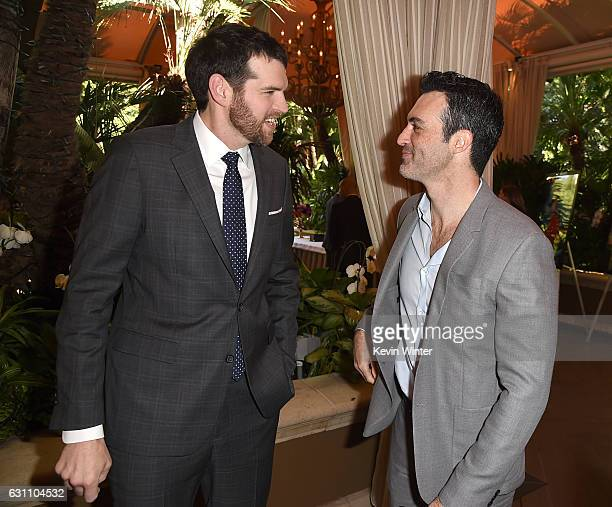 Actors Timothy Simons and Reid Scott attend the 17th annual AFI Awards at Four Seasons Los Angeles at Beverly Hills on January 6 2017 in Los Angeles...