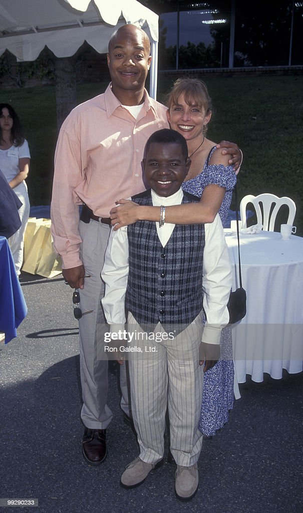 Actors Todd Brigdes and Gary Coleman and actress Dana Plato attend Fashion Island Fundradraiser on May 4, 1997 in Newport Beach, California.