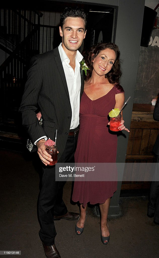 Actors Tom Bateman (L) and Anna Farnworth attend an after party celebrating press night of the new west end production of Much Ado About Nothing at The Foundation Bar on June 1, 2011 in London, England.
