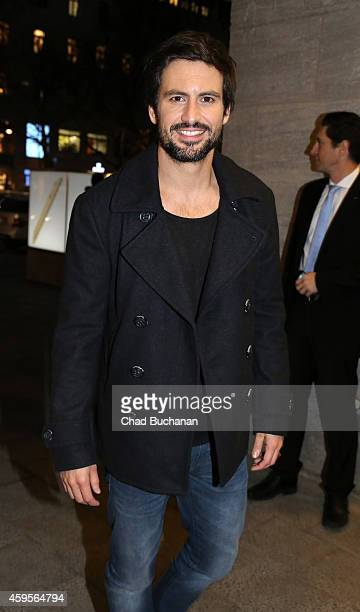 Actors Tom Beck sighted at the Apple Store Kurfuerstendamm on November 25 2014 in Berlin Germany