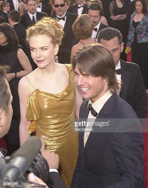 Actors Tom Cruise and Nicole Kidman arrive at the 72nd Annual Academy Awards March 26 2000 in Los Angeles CA Cruise and Kidman one of the Hollywood's...