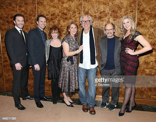 Actors Tom Pelphrey Quincy DunnBaker Deirdre O'Connell Charlotte Maier Vyto Ruginis Ethan Phillips and Cassie Beck attend the opening night...