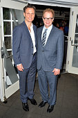 Actors Tony Goldwyn and Jeff Perry attend the White House Correspondents' Dinner Weekend PreParty hosted by The New Yorker's David Remnick at the W...