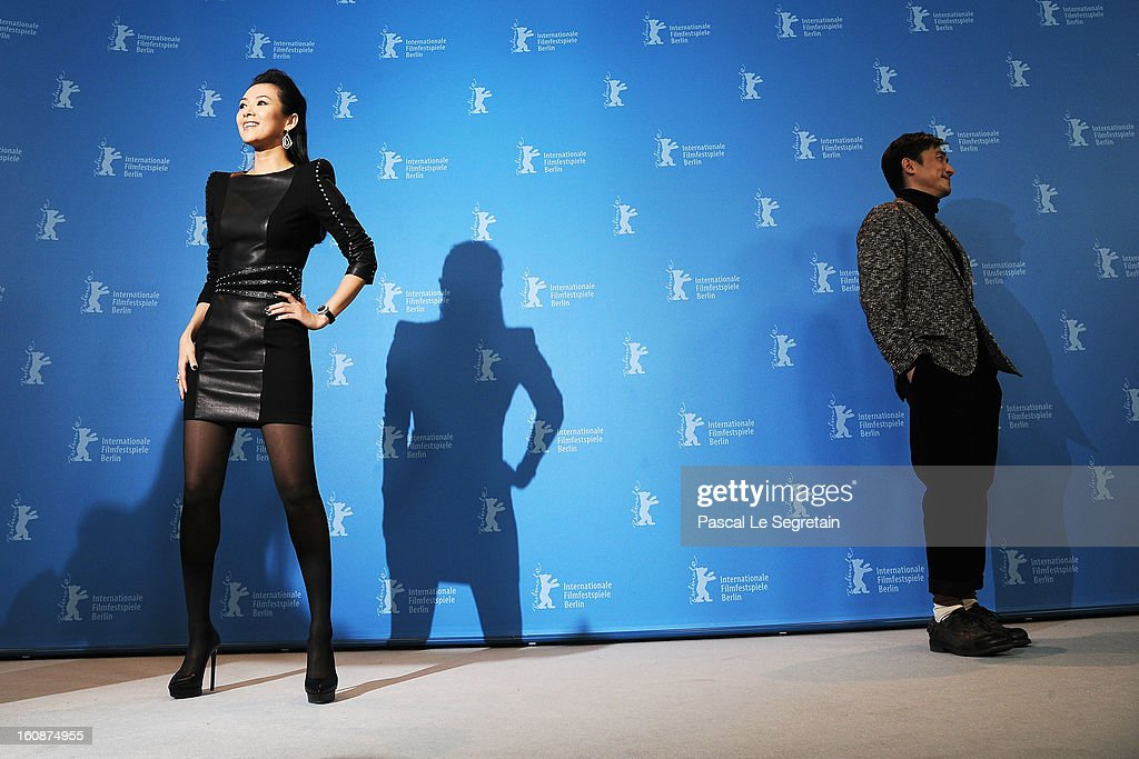 Actors Tony Leung Chiu Wai and Ziyi Zhang attend 'The Grandmaster' Photocall during the 63rd Berlinale International Film Festival at The Grand Hyatt Hotel on February 7, 2013 in Berlin, Germany.