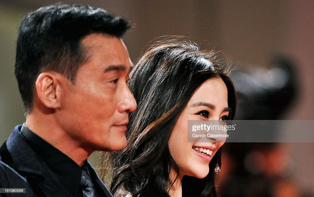 Actors Tony Leung Ka Fai and Angelababy attend the 'Tai Chi O' premiere during the 69th Venice Film Festival at the Palazzo del Cinema on August 31, 2012 in Venice, Italy.