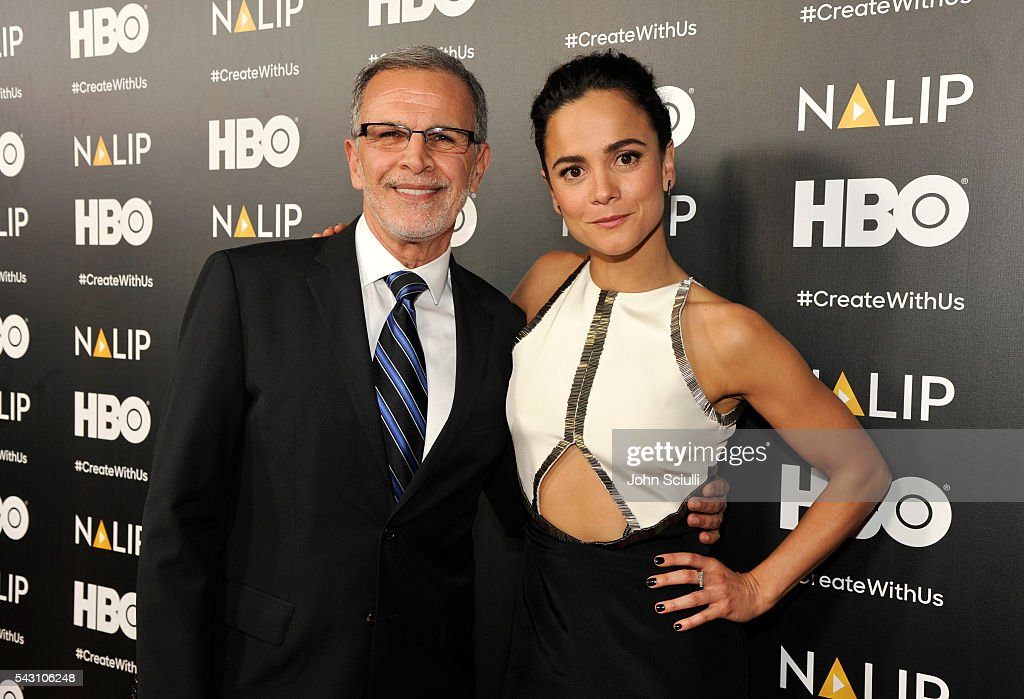 Actors Tony Plana and Alice Braga attend the NALIP 2016 Latino Media Awards at Dolby Theatre on June 25, 2016 in Hollywood, California.