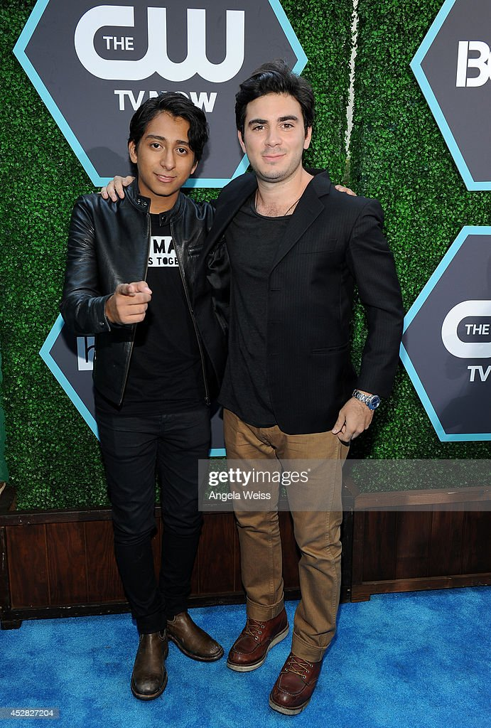 Actors <a gi-track='captionPersonalityLinkClicked' href=/galleries/search?phrase=Tony+Revolori&family=editorial&specificpeople=12456874 ng-click='$event.stopPropagation()'>Tony Revolori</a> (L) and Grant Rosenmeyer attend the 2014 Young Hollywood Awards brought to you by Samsung Galaxy at The Wiltern on July 27, 2014 in Los Angeles, California.