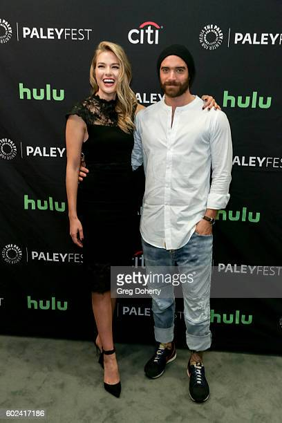 Actors Tori Anderson and Joshua Sasse attend The Paley Center For Media's PaleyFest 2016 Fall TV Preview for The CW at The Paley Center for Media on...