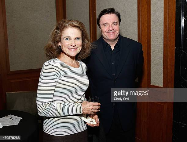 Actors Tovah Feldshuh and Nathan Lane attend the 'Elaine Stritch Shoot Me' screening reception at Paley Center For Media on February 19 2014 in New...
