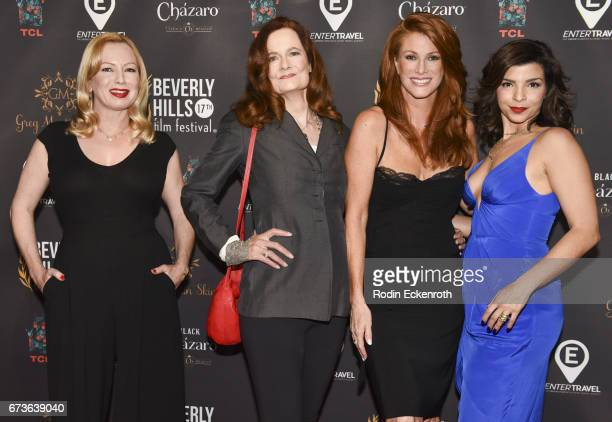 Actors Traci Lords Diane Salinger Angie Everhart and Leigh Rachel Faith attend the 17th Annual Beverly Hills Film Festival Opening Night at TCL...