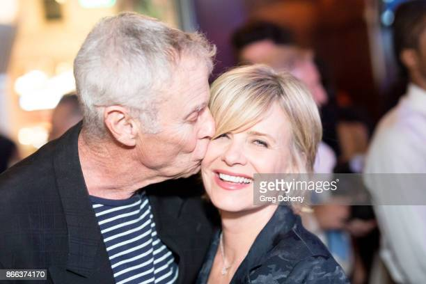 Actors Tristan Rogers and Mary Beth Evans attend the Cast Premiere Screening Of Lany Entertainment's 'The Bay' Season 3 After Party at 33 Taps...