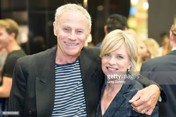Actors Tristan Rogers and Mary Beth Evans attends the Cast Premiere Screening Of Lany Entertainment's 'The Bay' Season 3 at TCL Chinese Theatre on...