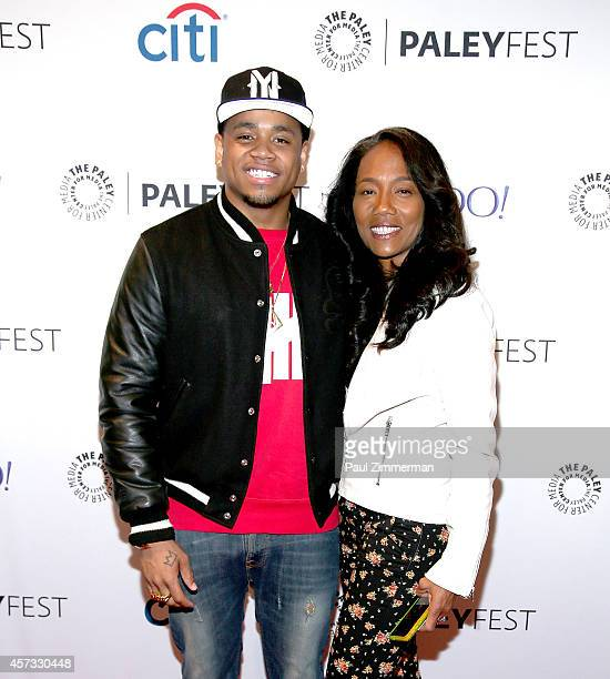 Actors Tristan Wilds and Sonja Sohn attend the 2nd Annual Paleyfest New York Presents 'The Wire Reunion' at Paley Center For Media on October 16 2014...