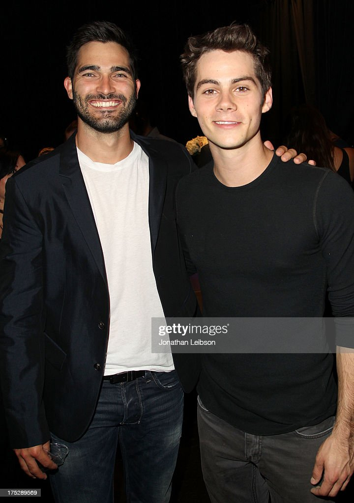 Actors Tyler Hoechlin and Dylan O'Brien attend CW Network's 2013 Young Hollywood Awards presented by Crest 3D White and SodaStream held at The Broad Stage on August 1, 2013 in Santa Monica, California.